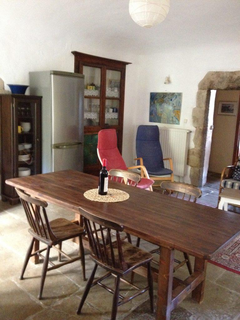 Kitchen/living room large gîte